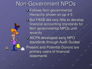 Non-Government NPOs