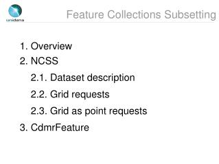 Feature Collections Subsetting