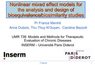 Nonlinear mixed effect models for the analysis and design of bioequivalence/ biosimilarity  studies