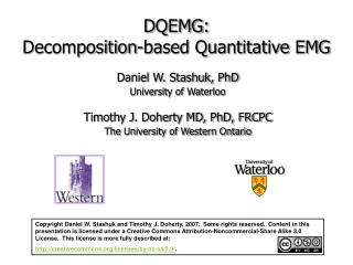 DQEMG:  Decomposition-based Quantitative EMG