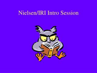 Nielsen/IRI Intro Session