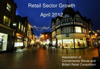 Retail Sector Growth April 2012