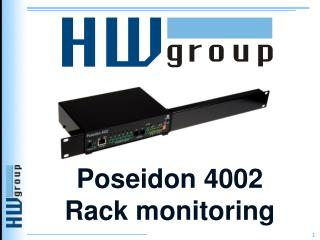 Poseidon 4002  Rack monitoring