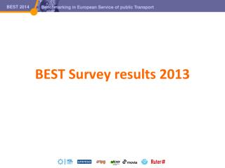 BEST Survey results 2013