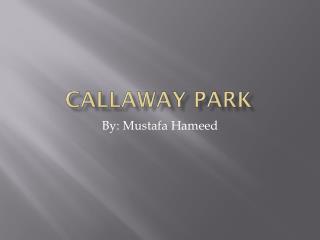 Callaway Park