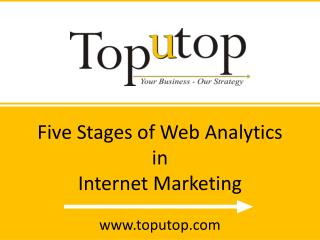 Five Stages of web analytics in internet marketing