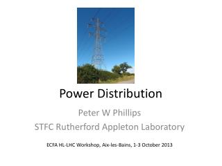 Power Distribution