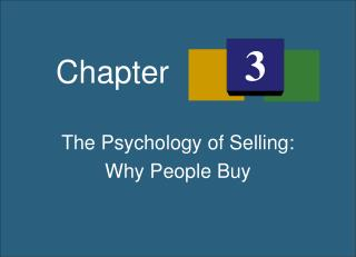 The Psychology of Selling: Why People Buy