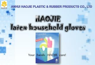HAOJIE  latex household gloves