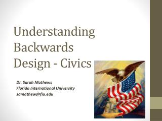 Understanding Backwards  Design - Civics