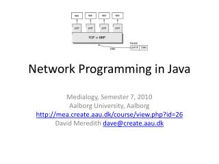 Network Programming in Java