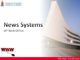 News Systems UP Web Office