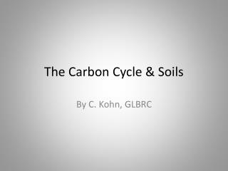 The Carbon Cycle & Soils
