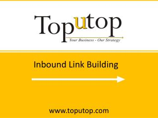 Inbound Link Building in Internet Marketing
