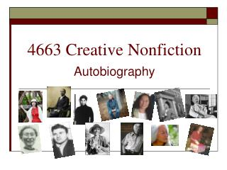 4663 Creative Nonfiction