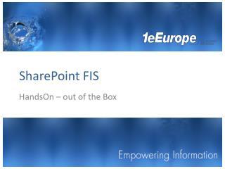 SharePoint FIS