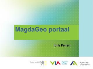 MagdaGeo  portaal