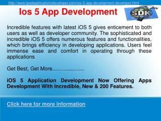 ios 5 app development