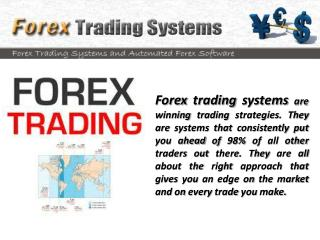 Forex Trading Systems - How Well Do They Work?