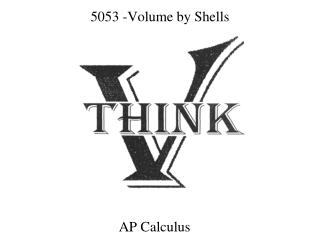 5053 -Volume by Shells