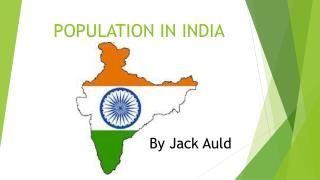 POPULATION IN INDIA