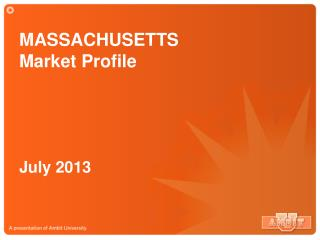 MASSACHUSETTS Market Profile