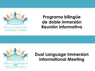 Dual Language Immersion Informational Meeting