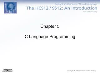 Chapter 5 C Language Programming