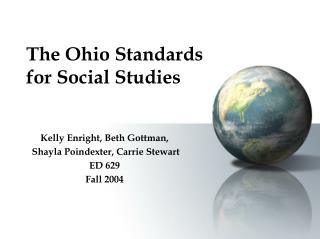 The Ohio Standards for Social Studies