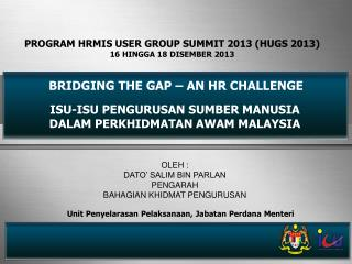 BRIDGING THE GAP – AN HR CHALLENGE