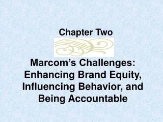 Marcom's Challenges: Enhancing Brand Equity, Influencing Behavior, and Being Accountable