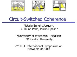 Circuit-Switched Coherence