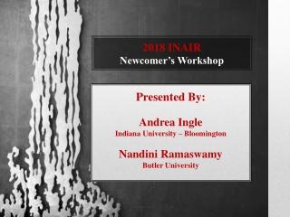 Enrollment Forecasting Workshop