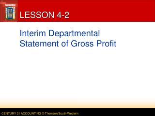 LESSON 4-2