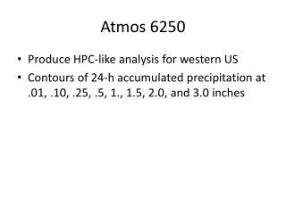 Atmos 6250