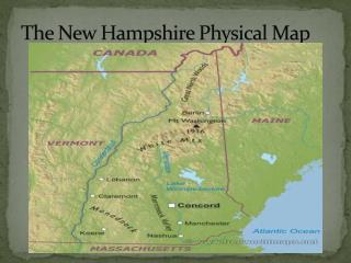 The New Hampshire Physical Map