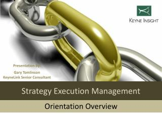 Strategy Execution Management