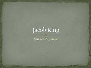 Jacob King