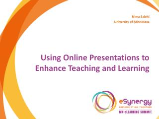 Using Online Presentations to Enhance Teaching and Learning