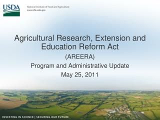 Agricultural Research, Extension and Education Reform Act
