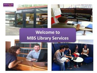 Welcome to  MBS Library Services