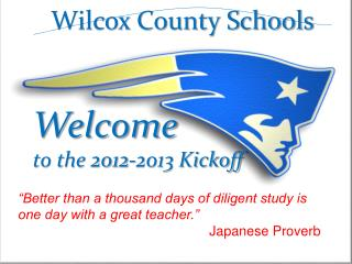 Welcome to the 2012-2013 Kickoff