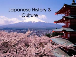 Japanese History & Culture
