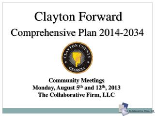 Comprehensive  Plan 2014-2034