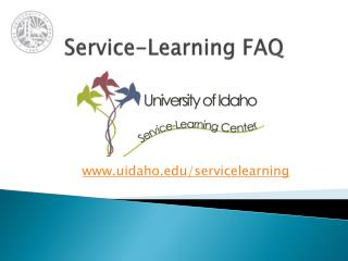 Service-Learning FAQ