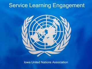 Service Learning Engagement