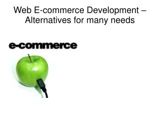 E-commerce Shopping Cart Development India