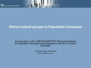 Ethno-cultural groups in Population Censuses