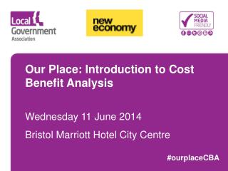 Our Place: Introduction to Cost Benefit Analysis