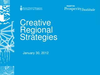 Creative  Regional Strategies